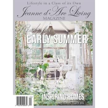 Časopis Jeanne d'Arc Living 4/2019 - anglická verze