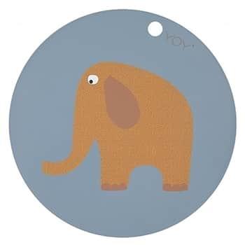 Dětská silikonová podložka Elephant