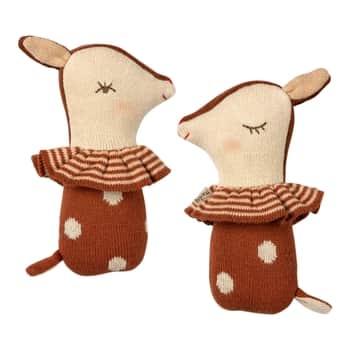 Textilní chrastítko Bambi Rusty
