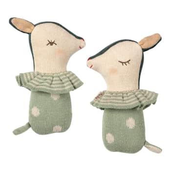 Textilní chrastítko Bambi Dusty Mint