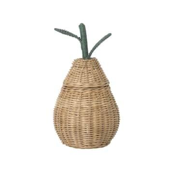 Ratanový košík Small Pear