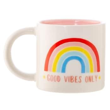 Porcelánový hrnček Good Vibes Only