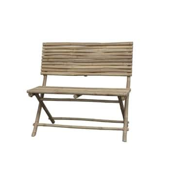 Bambusová lavica soperadlom Lyon