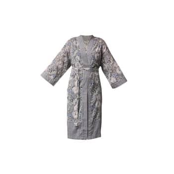 Kimono spáskem Grey Oriental