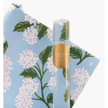 Baliaci papier skvetinami Hydrangea - 3 listy