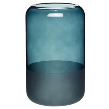Skleněná váza Thin Matte Blue