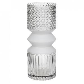 Skleněná váza Cubist Vase