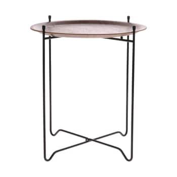 Odkladací stolček Willow Wood ⌀ 43,5 cm