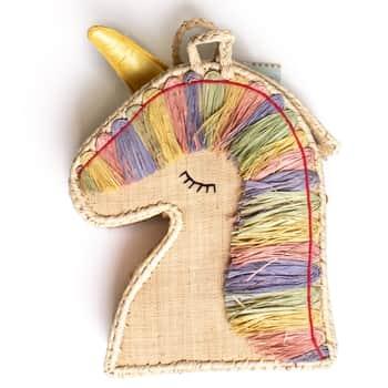 Dětský úložný box Raffia Unicorn