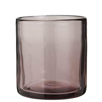 Svícen zručně foukaného skla Malva