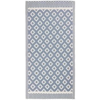 Koberec zrecyklovaného plastu Blue 90x180 cm