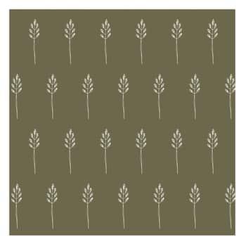 Papierové obrúsky Wild Wheat Autumn green - 20 ks
