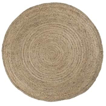 Jutový koberec Rug Round Jute Ø 220 cm