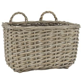 Proutěný závěsný košík Wallhanging Basket