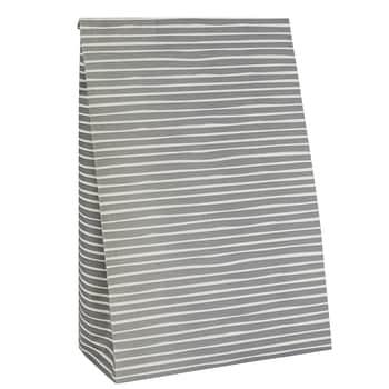 Papírový sáček Stripe Grey L