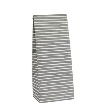 Papierový sáčok Stripe Grey S