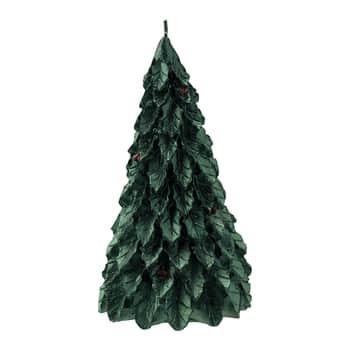 Vánoční svíčka Dark Green Tree Small