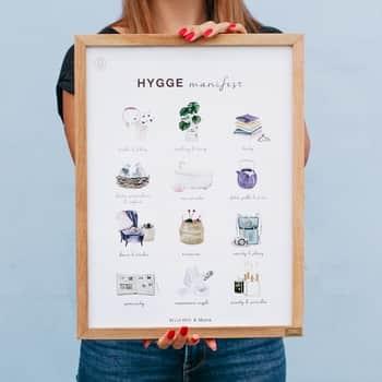Plakát Bella Rose - Hygge Manifest (limitovaná edice - SK)