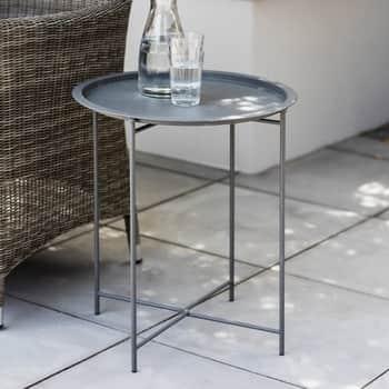 Skladací stolček Charcoal