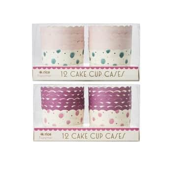 Papierové košíčky na muffiny Watercolor Splash