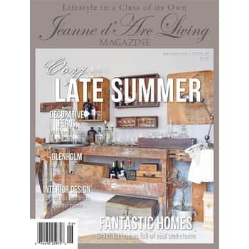 Časopis Jeanne d'Arc Living 6/2019 - anglická verze
