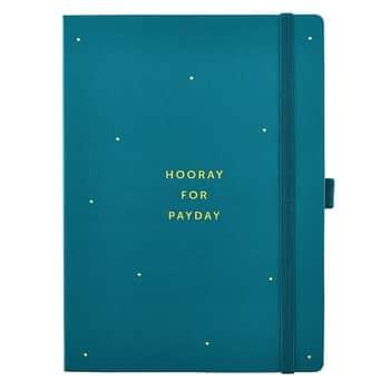 Deník na domácí účetnictví Budget Book Green