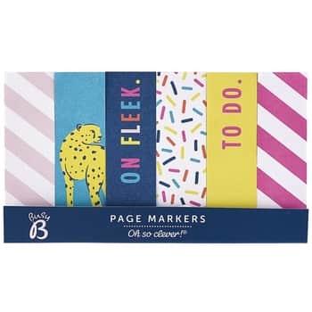 Samolepiace štítky Colorful Page Markers