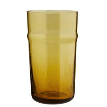 Sklenička Tall Amber Glass