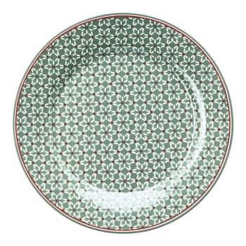 Porcelánový tanier Juno Green