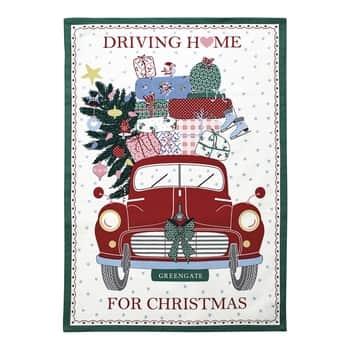 Utěrka Christmas Car