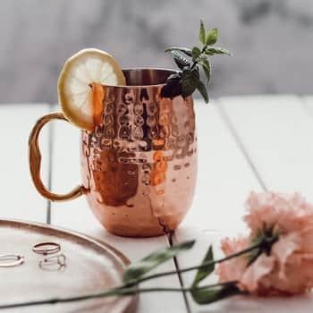 Kovový hrnek Copper Mug 450ml
