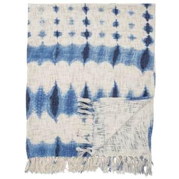 Batikovaný prehoz Blue 160x130 cm