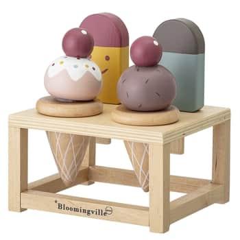 Dřevěná hračka - zmrzlinárna
