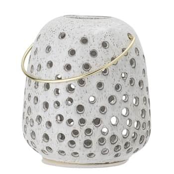 Keramický lampáš Holes