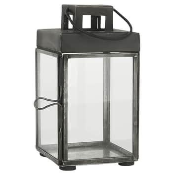 Kovová lucernička Lantern Square 15,5cm