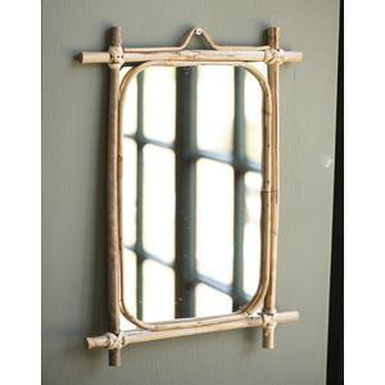 Zrkadlo vbambusovom ráme Bamboo