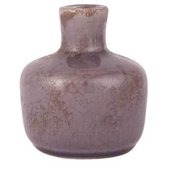 Keramická vázička Crackled Purple