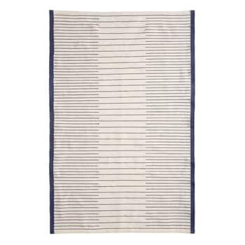Tkaný koberec Ivory White & Blue 120 x 180 cm