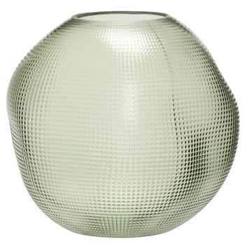 Sklenená váza Dot Green Glass