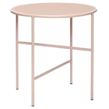 Kovový stolček Pink Glass ⌀ 44 cm