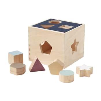 Dřevěná krabička stvary Aiden