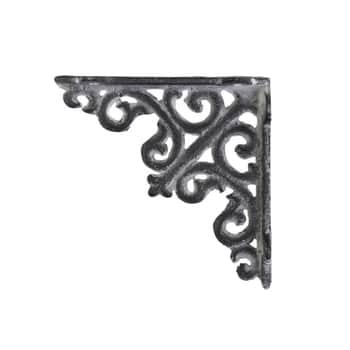 Kovová konzole Antique Grey 10cm