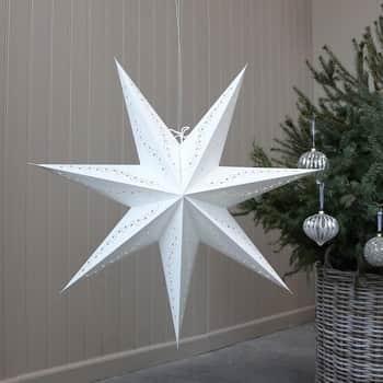 Papierová hviezda Antique Cream 60cm
