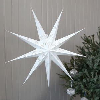 Papierová hviezda Antique Cream 90cm