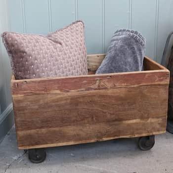 Dřevěný box skolečky Grimaud Old Box