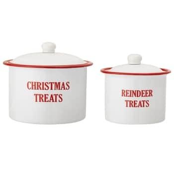 Vánoční kovová dóza Christmas Treats