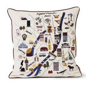 Bavlněný polštář Copenhagen Cushion 50 x 50 cm