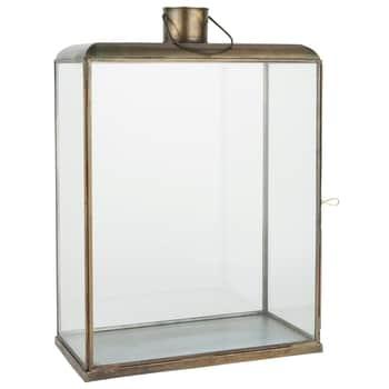 Kovová lucerna Lantern Large Oblong
