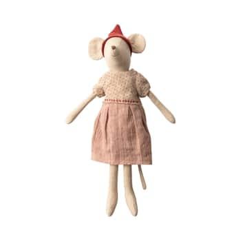 Vánoční myška voblečku Medium Girl