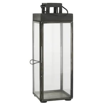 Kovový lampáš Square Black